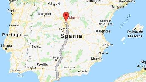 SAVNET: En norsk kvinne som bor i Fuengirola er savnet etter en helgetur til Madrid.