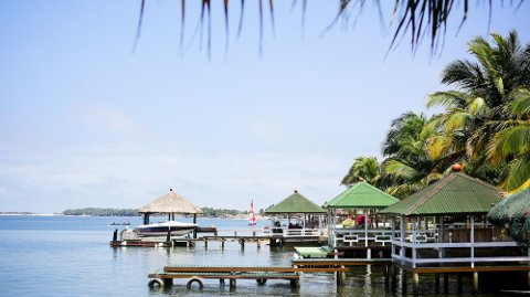 Her fra Dodi Island ved Volta-regionen. Foto: Flickr/Yenkassa (Peace Times)