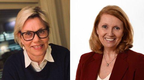 Psykologiprofessor Fanny Duckert og karriererådgiver Vigdis Lamberg, gir råd til personer som har mistet jobben.