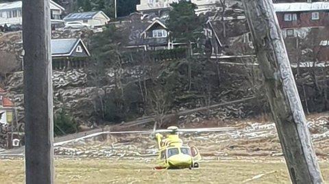 KNIVSTIKKING: En mann ble knivstukket på Averøy på Nordmøre, fredag ettermiddag.
