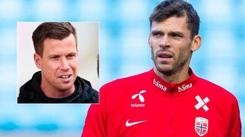 ROSER JARSTEIN: Rune Almenning Jarstein og Jesper Mathisen møttes på U-landslagssamling. Det møtet glemmer ikke Mathisen med det første.