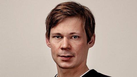 TAXIKONGE: Redaksjonssjef i P3, Mats Borch Bugge er NRKs taxikonge med 202 taxiturer i året.