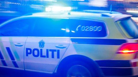 ULYKKE: Nødetatene rykket ut til en trafikkulykke i Ålesund tirsdag ettermiddag.