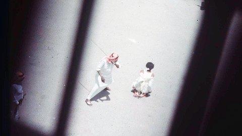 Bilder av henrettelser i Saudi-Arabia er svært vanskelig å oppdrive. Dette bildet viser en halshogging i byen Jedda på 1980-tallet. De fleste henrettelser i regimet blir effektuert ved halshogging (arkivbilde).