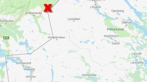 FUNNET DØD: En svensk mann i 60-årene er funnet død på norsk side av grensen.