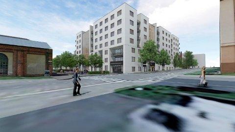 SKAL BYGGES: Nye Majorstutunet sykehjem i bydel Frogner planlegges ferdigstilt i slutten av 2022, og er et av 13 nye sykehjem som åpner de neste fire årene i Oslo.