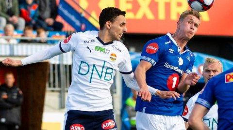 TAPTE IGJEN: Strømsgodset og Mos har ikke fått noen god start på eliteseriesesongen 2019. Søndag ble det nytt tap mot Ranheim.