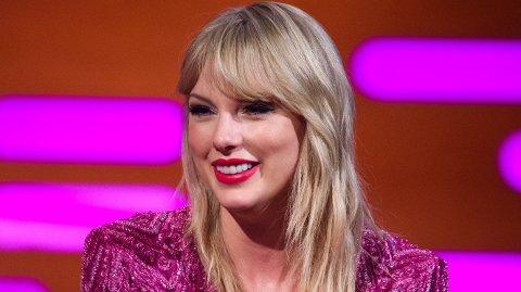 VILLE IKKE SVARE: Da en journalist stilte spørsmål om alder og barn, nektet Taylor Swift å svare.
