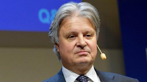 LEVERER IKKE GODT NOK: Nordeas konsernsjef Casper von Koskull synes ikke resultatene til Nordens største bank er gode nok.