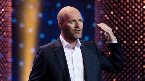 iNGEN LYSTIG LESNING: Bård Tufte Johansen hadde kraftig fall i inntekter og årsresultat i fjor.