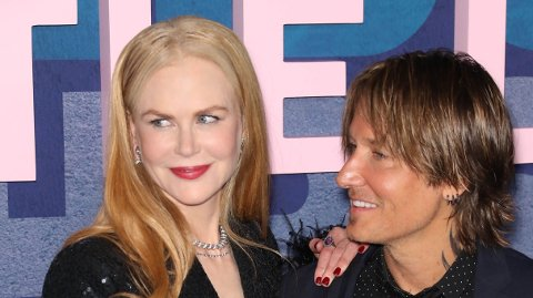 FLAU: Nicole Kidman innrømmer at enkelte av sangene til ektemannen Keith Urban gjør henne flau.