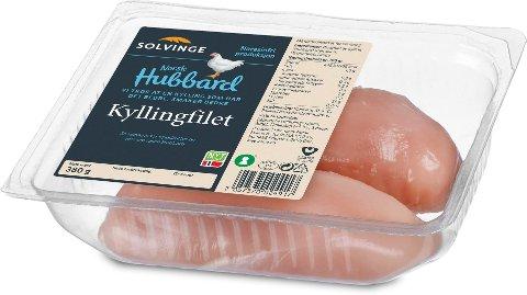 MÅ ERSTATTES: Hubbard-rasen har også blitt tydelig profilert på kyllingpakkene i Remas butikker, men nå er det slutt.