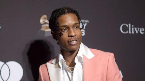 JUBLET: A$AP Rocky jublet da retten besluttet å løslate han i påvente av dommen i voldssaken mot han i Stockholm.