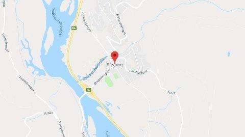 FRONTKOLLISJON: Flere er skadd etter en frontkollisjon på E6 ved Fåvang i Ringebu.