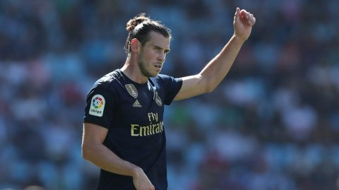 BLIR I MADRID: Gareth Bale blir værende i Real Madrid. Det sier manager Zinedine Zidane.