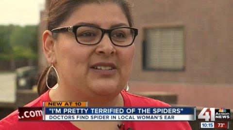 Susie Torres trodde hun bare hadde vann i øret. Det var det ikke.