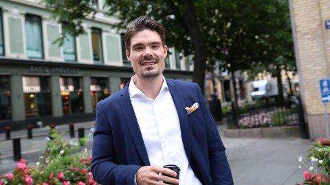 TAR GEVINST: Investeringsøkonom Mads Johannesen i Nordnet sier deres kunder nå sikrer kursgevinsten de har hatt i hydrogenselskapet Nel og selger seg ut.