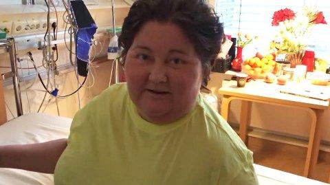 OPPDATERER: Christine Koht forteller på Facebook at hun har fått flytte ut av sykehuset.
