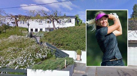 KJØPTE STORT: Golfstjernen Suzann Pettersen og ektemannen har kjøpt en villa i Oslo vest for nesten 40 millioner kroner.