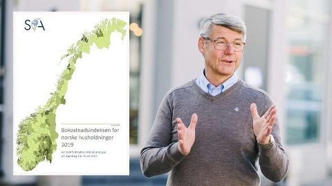 REAGERER PÅ KOSTNADENE: Morten A. Meyer i Huseierne reagerer på de kraftige økningene i kommunale gebyrer.