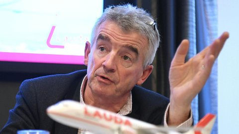Ryanair-sjef Michael O'Leary