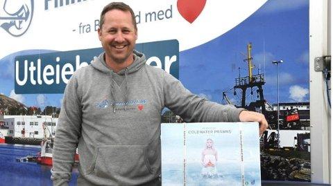 FORTVILET: Cato Signebøen, som er daglig leder i Finnmarksfisk, har tapt mye penger på at Klarna har vært nede på Black Friday.