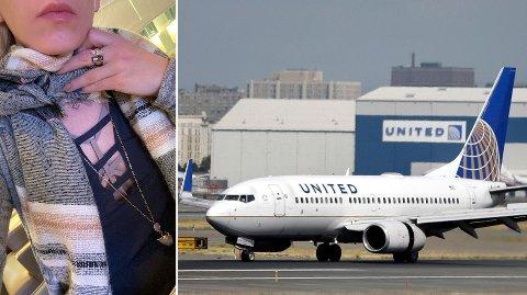 NEKTET: Dette antrekket ble for mye for United Airlines, som først nektet Andrea Worldwide adgang på flyet.
