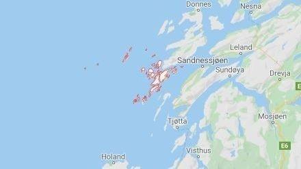 DØD: Én person døde etter en brann i Nordland.