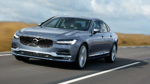 Den store sedanen S90 fra Volvo får du med bare ett motoralternativ: Som ladbar hybrid. Det samme gjelder for øvrig også lillebror S60.