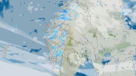 17. MAI-VÆRET: På Vestlandet blir det vått og på Østlandet kjølig på 17. mai, ifølge meteorologen. Beveger vi oss lenger nordover, finnes det lyspunkter.