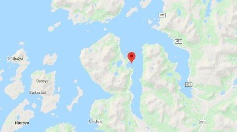 BÅTULYKKE: Tre mindreåruge var involvert i en båtulykke ved Rebbesvågen i Nordland.