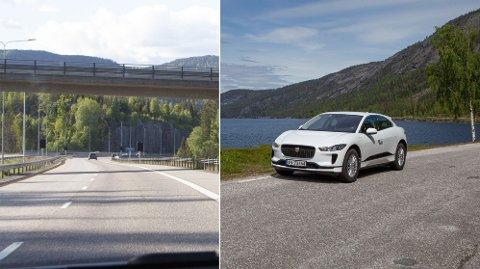 Bruker man mest strøm på å kjøre den raske, korte veien - eller den trege, lange veien?