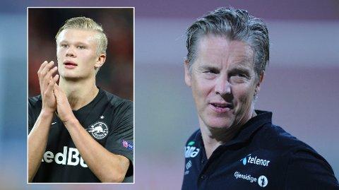 LOT SEG IMPONERE: Jan Åge Fjørtoft stilte van Dijk spørsmål om Haaland. Da fikk LFC-stjernen nok.