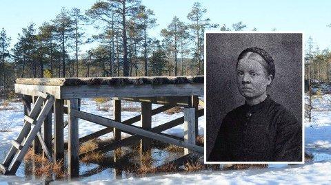 HENRETTET: Sofie var en av de siste som ble henrettet i Norge. Dette skafottet er ikke der hun ble henrettet, men en illustrasjon.