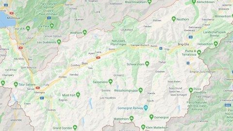 FLYULYKKE: Fire personer omkom etter en småflyulykke i Alpene.