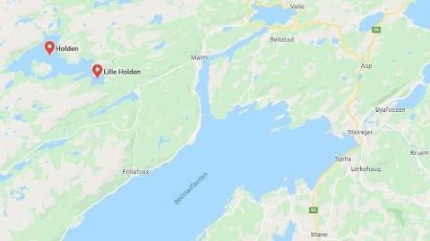 Levningene av mannen ble funnet i innsjøen Holden, der han ble savnet etter en fisketur i 1981.