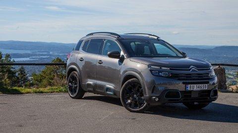 Citroën håper at C5 Aircross PHEV skal være en av en håndfull biler som skal sørge for et tredobbelt salg i Norge.