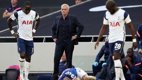 TUNG START: Det ble ingen drømmeåpning på sesongen for Jose Mourinho og Tottenham