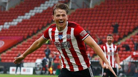 Sheffield United og Sander Berge får trøbbel i ligacupen torsdag.
