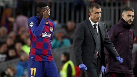 BLIR: Ousmane Dembele ser ikke ut til å bli ny United-spiller dette overgangsvinduet.