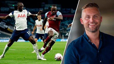 UHELDIG KOMMENTAR: Jon Hartvig Børrestad hadde en svært uheldig kommentar etter kampen mellom Tottenham og West Ham.