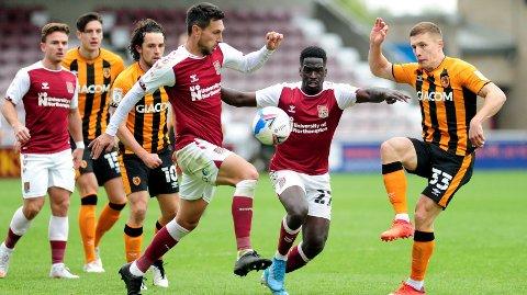 Bildet er hentet fra Hulls bortekamp mot Northampton tidligere i sesongen.