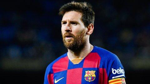 VANSKELIGE TIDER: Lionel Messi har aldri vært nærmere en overgang vekk fra sitt kjære Barcelona, enn det han var i sommer.