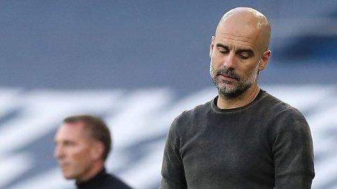 Pep Guardiola opplever sin tyngste sesongstart noensinne som manager. Manchester City har kun tolv poeng så langt. Han har aldri tatt så få poeng etter syv kamper med noe lag han har ledet.