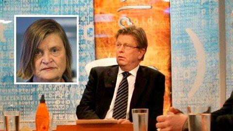 Elin Ørjasæter (innfelt) og TV 2-profilen Pål T. Jørgensen redet i bunn og grunn grunnen for ukens mest leste Nettavisen-meninger.