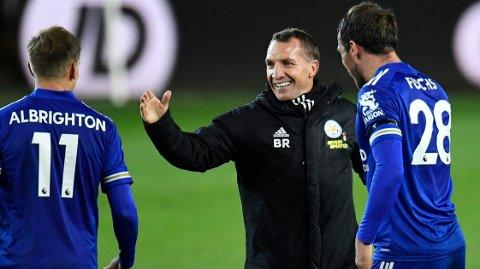 Brendan Rodgers har vunnet alle syv kampene som manager mot Fulham.