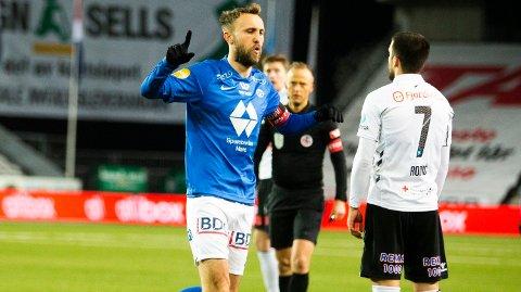 UTLIGNET: Magnus Wolff Eikrem utlignet for Molde.