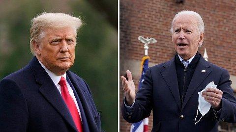 Det er mye som står på spill i Georgia, både for Donald Trump og Joe Biden.