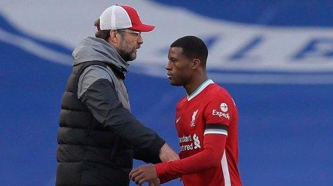 NØKKELMANN:Georginio Wijnaldum har vært svært sentral på Liverpools midtbane. Nå kan han komme til å forsvinne.