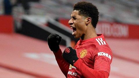 Vi tror at Marcus Rashford og Manchester United kan juble for tabelltopp tirsdag kveld.